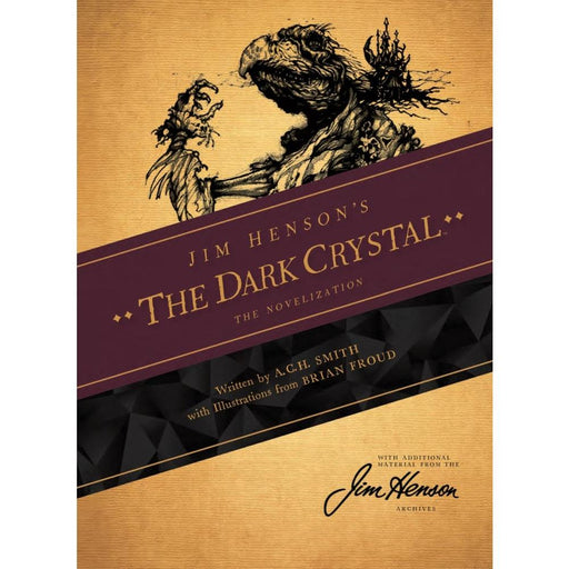 JIM HENSONS DARK CRYSTAL NOVEL SC - Books Novels/SF/Horror