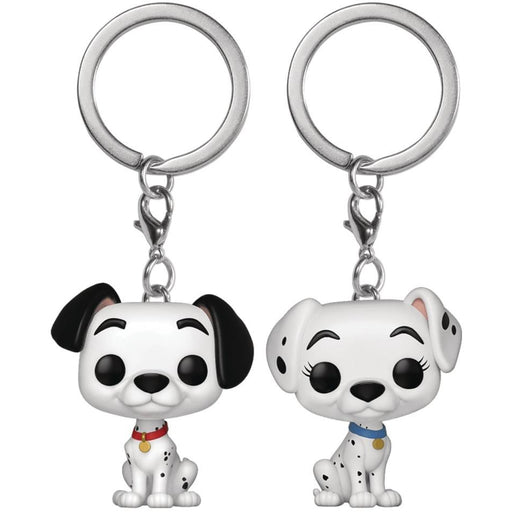 POP KEYCHAIN DALMATIONS PONGO & PERDITA 2PK VIN FIG - Toys/Models