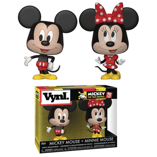 VYNL DISNEY MICKEY MOUSE & MINNIE MOUSE 2PK - Toys/Models