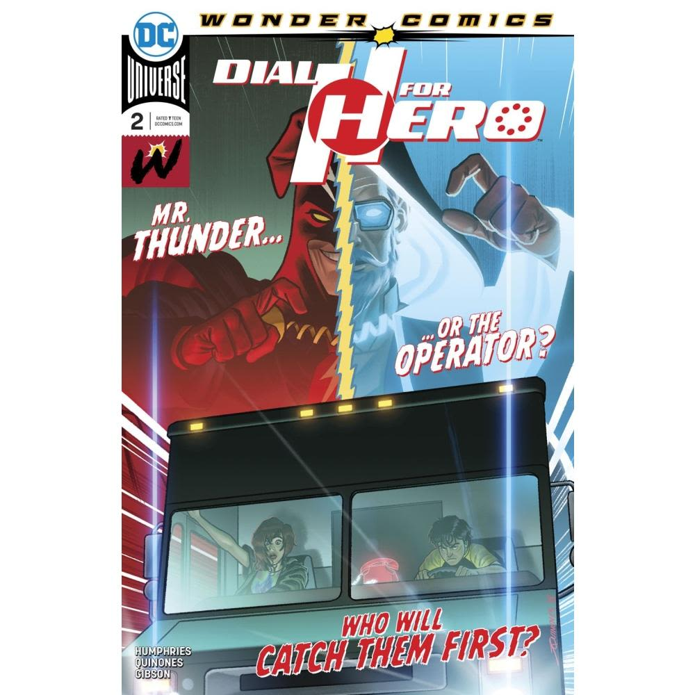 DIAL H FOR HERO #2 (OF 6) - COMIC BOOK - Comics