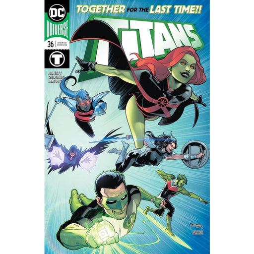 TITANS #36 - COMIC BOOK - Comics