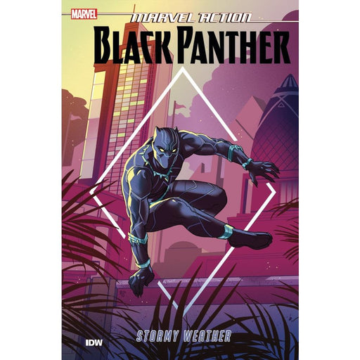 MARVEL ACTION BLACK PANTHER BOOK 01 STORMY WEATHER TPB - Books Graphic Novels