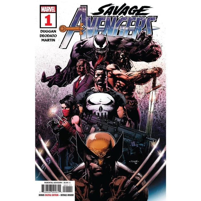 SAVAGE AVENGERS #1 - COMIC BOOK - Comics