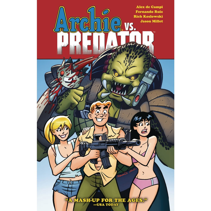 ARCHIE VS PREDATOR TPB - Books Graphic Novels