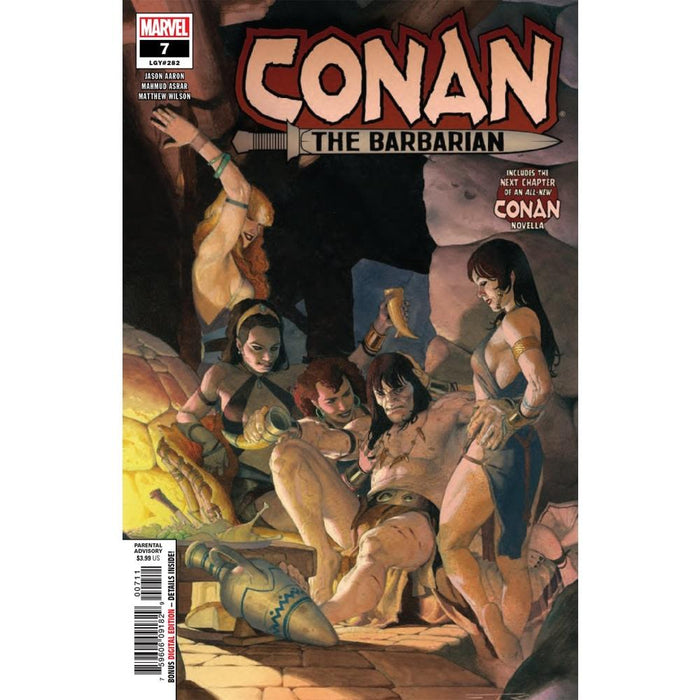 CONAN THE BARBARIAN #7 - COMIC BOOK - Comics