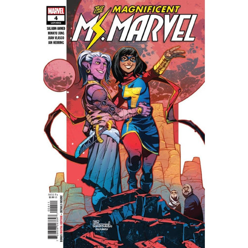 MAGNIFICENT MS MARVEL #4 - COMIC BOOK - Comics