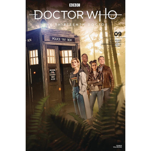 DOCTOR WHO 13TH #9 CVR B - COMIC BOOK - Comics