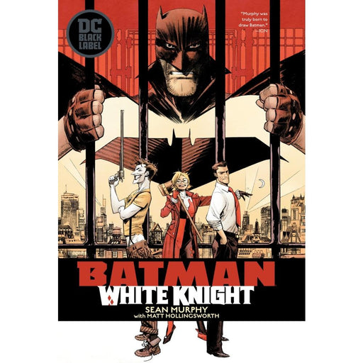 BATMAN WHITE KNIGHT - Books Graphic Novels