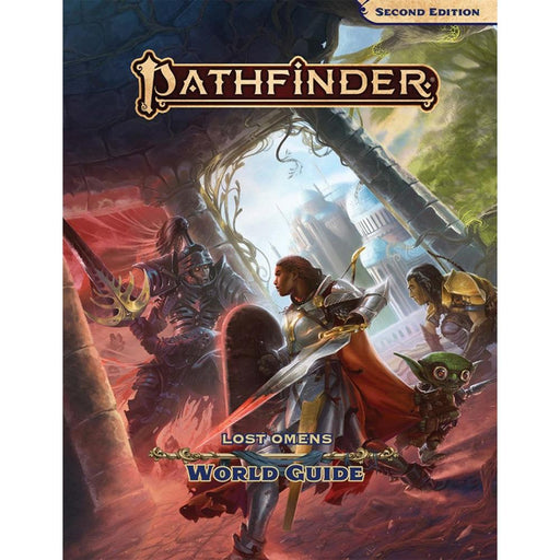 PATHFINDER LOST OMENS WORLD GUIDE HARDCOVER (P2) - Games