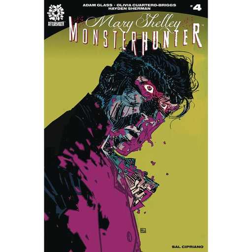 MARY SHELLEY MONSTER HUNTER #4 - COMIC BOOK - Comics