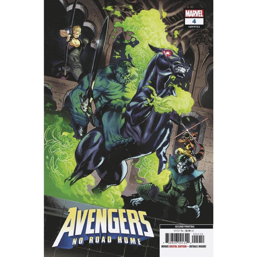 AVENGERS NO ROAD HOME #4 (OF 10) 2ND PTG VAR - COMIC BOOK - Comics