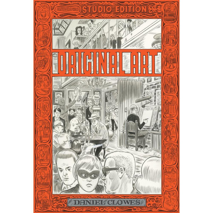 FANTAGRAPHICS STUDIO ED HARDCOVER DANIEL CLOWES - Books Graphic Novels