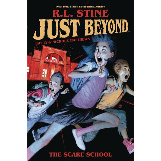 JUST BEYOND SCARE SCHOOL ORIGINAL GN RL STINE - Books Graphic Novels