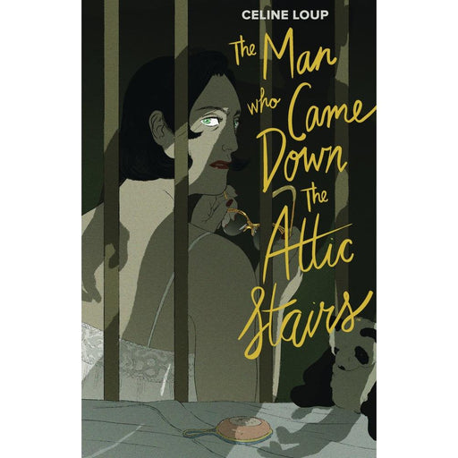 MAN WHO CAME DOWN ATTIC STAIRS HARDCOVER - Books Graphic Novels