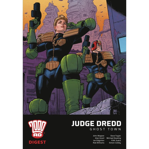 JUDGE DREDD GHOST TOWN 2000 AD DIGEST - Books Graphic Novels