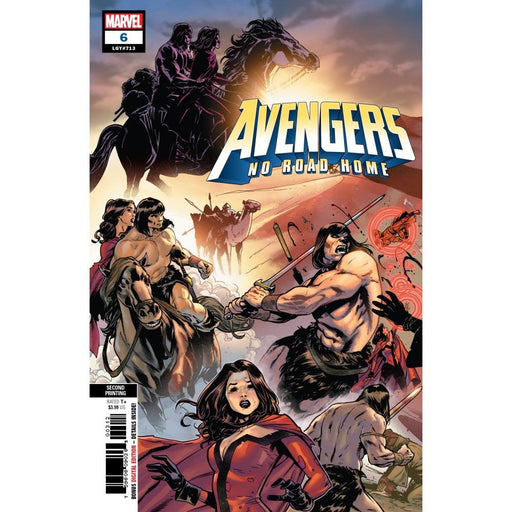 AVENGERS NO ROAD HOME #6 (OF 10) 2ND PTG VAR - COMIC BOOK - Comics