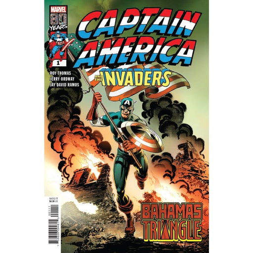 CAPTAIN AMERICA INVADERS BAHAMAS TRIANGLE #1 - COMIC BOOK - Comics