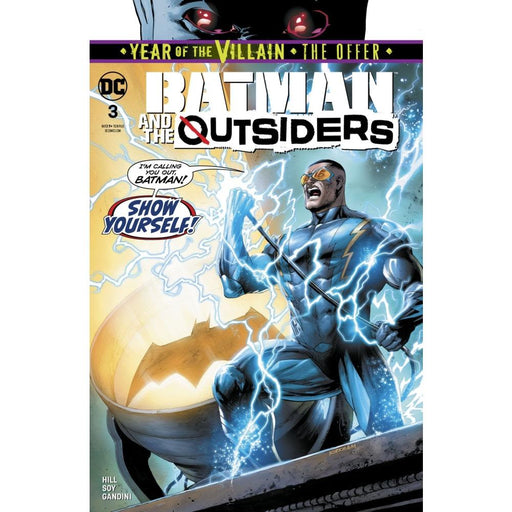 BATMAN AND THE OUTSIDERS #3 - COMIC BOOK - Comics