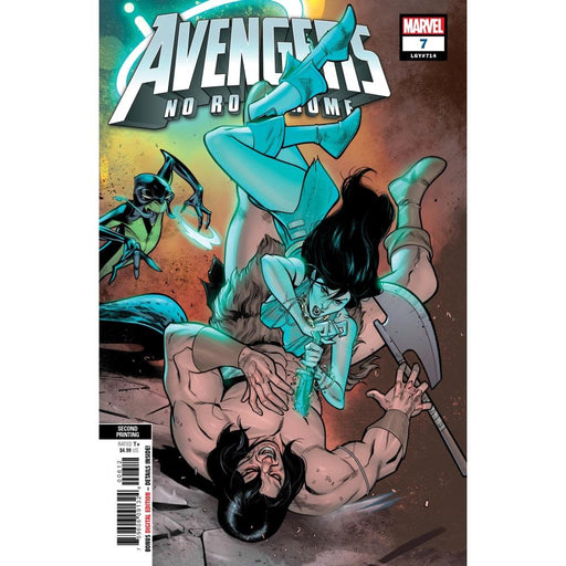AVENGERS NO ROAD HOME #7 (OF 10) 2ND PTG VAR - COMIC BOOK - Comics
