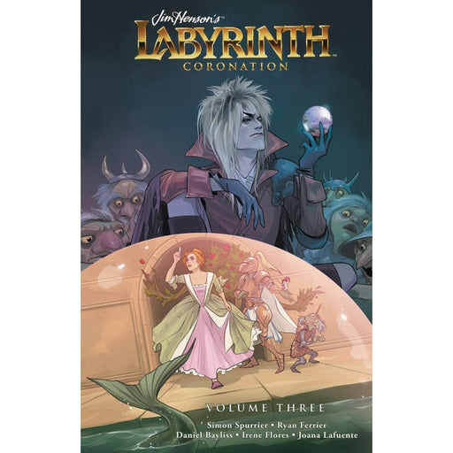 JIM HENSON LABYRINTH CORONATION HARDCOVER VOLUME 3 - Books Graphic Novels