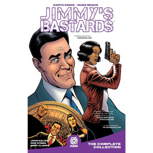JIMMYS BASTARDS HARDCOVER VOLUME 1 YEAR ONE - Books Graphic Novels