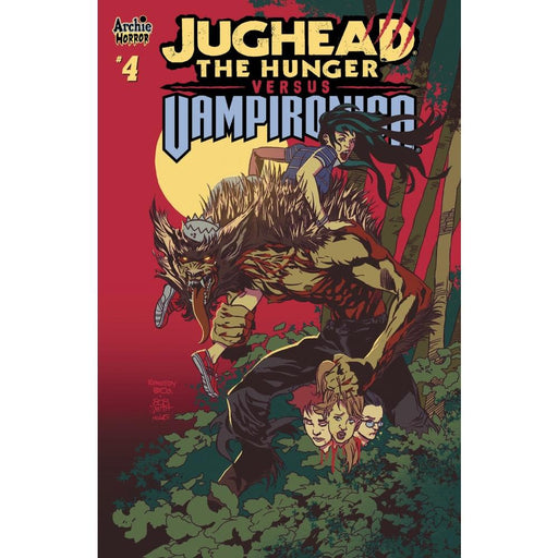 JUGHEAD HUNGER VS VAMPIRONICA #4 CVR A - COMIC BOOK - Comics