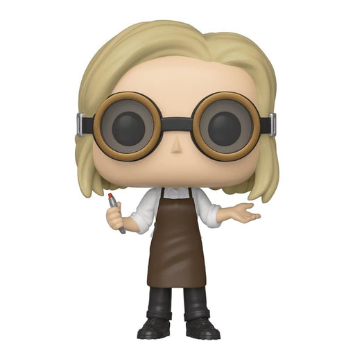 POP TV DOCTOR WHO 13TH DOCTOR W/GOGGLES VIN FIG - Toys/Models