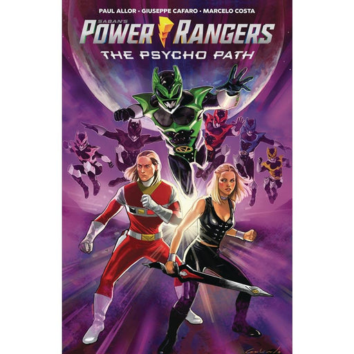 POWER RANGERS PSYCHO PATH ORIGINAL GN - Books Graphic Novels