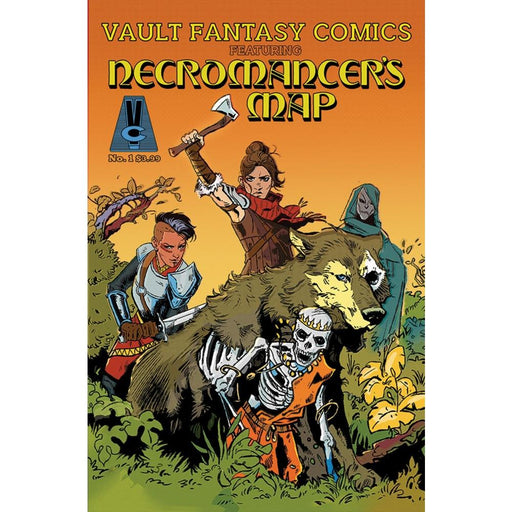 NECROMANCERS MAP #1 CVR - COMIC BOOK - Comics
