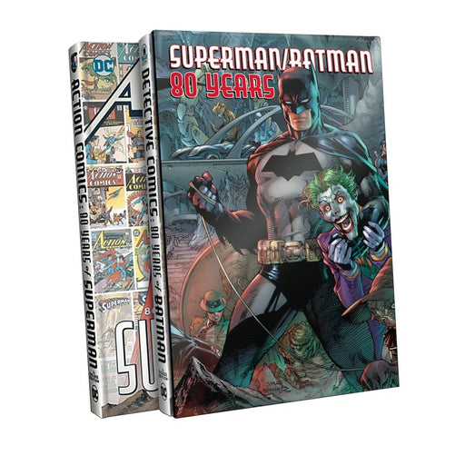 SUPERMAN BATMAN 80 YEARS SLIPCASE SET - Books Graphic Novels