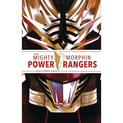 MIGHTY MORPHIN POWER RANGERS DLX HARDCOVER SHATTERED GRID - Books Graphic Novels