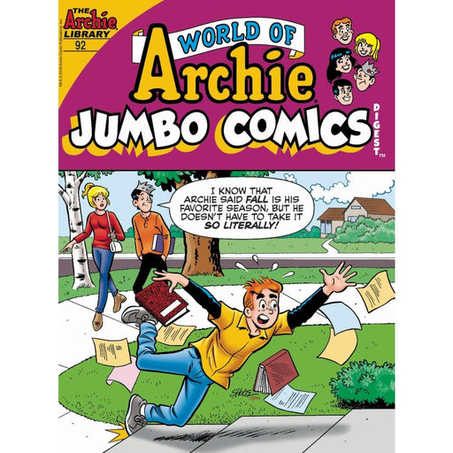 WORLD OF ARCHIE JUMBO COMICS DIGEST #92 - COMIC BOOK - Comics