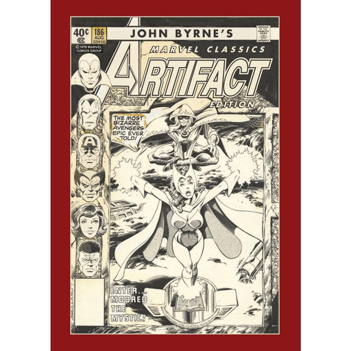 JOHN BYRNES MARVEL CLASSICS ARTIFACT EDITION HARDCOVER - Books Graphic Novels