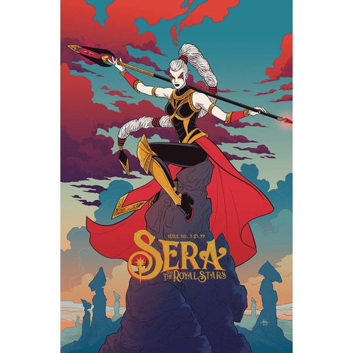 SERA & ROYAL STARS #3 - COMIC BOOK - Comics