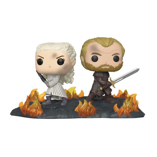 POP MOMENT GAME OF THRONES DAENARYS & JORAH VIN FIG - Toys/Models