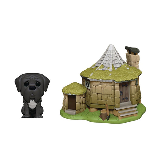 POP TOWN HARRY POTTER HAGRIDS HUT W/FANG VIN FIG - Toys/Models