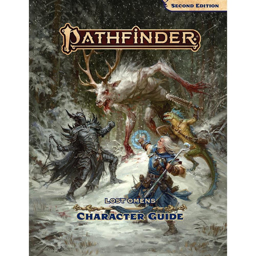 PATHFINDER LOST OMENS CHARACTER GUIDE HARDCOVER (P2) - Games