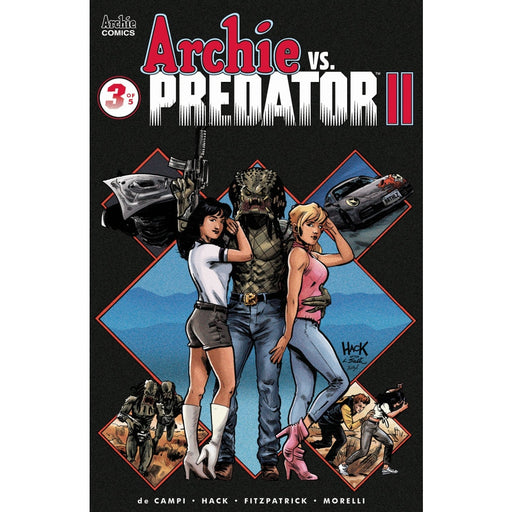 ARCHIE VS PREDATOR 2 #3 (OF 5) CVR A - COMIC BOOK - Comics
