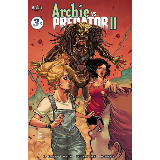 ARCHIE VS PREDATOR 2 #3 (OF 5) CVR B - COMIC BOOK - Comics