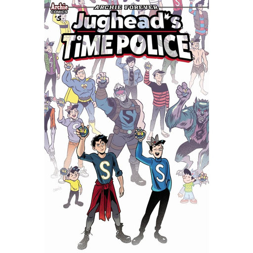 JUGHEAD TIME POLICE #5 (OF 5) CVR A - COMIC BOOK - Comics