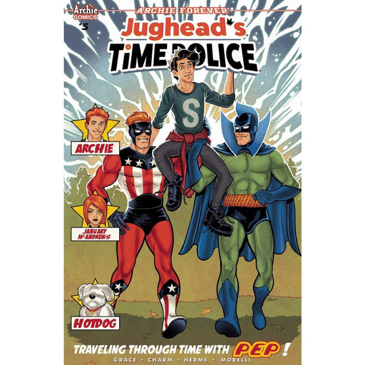 JUGHEAD TIME POLICE #5 (OF 5) CVR B - COMIC BOOK - Comics