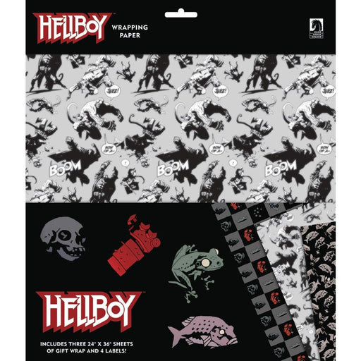 HELLBOY WRAPPING PAPER - Novelties Comic