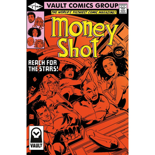 MONEY SHOT #1 CVR B - COMIC BOOK - Comics