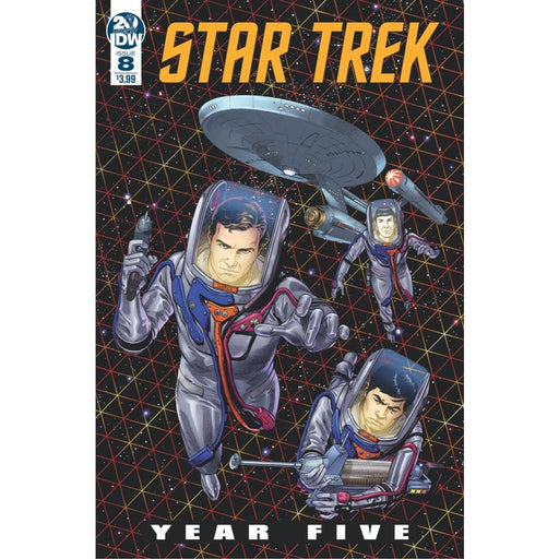 STAR TREK YEAR FIVE #8 CVR A - COMIC BOOK - Comics