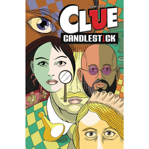 CLUE CANDLESTICK TPB - Books Graphic Novels