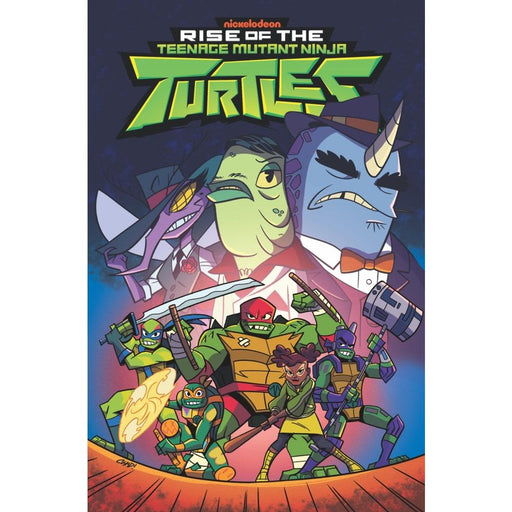 TMNT RISE OF THE TMNT VOLUME 3 SOUND OFF TPB - Books Graphic Novels