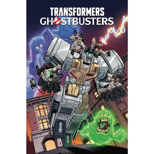 TRANSFORMERS GHOSTBUSTERS VOLUME 1 GHOSTS OF CYBERTRON TPB - Books Graphic Novels