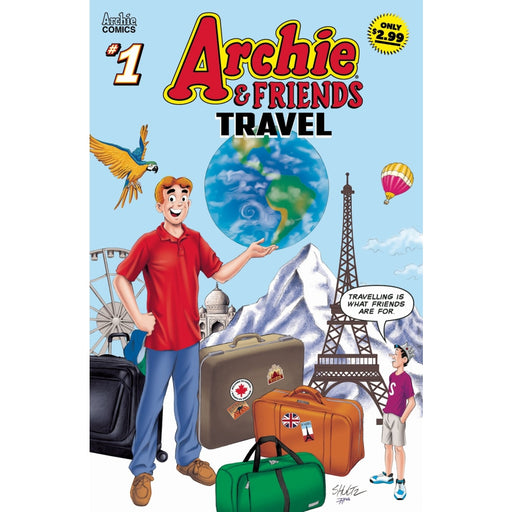 ARCHIE & FRIENDS TRAVEL #1 - COMIC BOOK - Comics