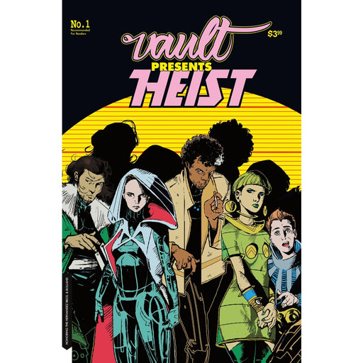 HEIST HOW TO STEAL A PLANET #1 CVR B - COMIC BOOK - Comics