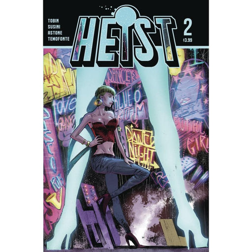 HEIST HOW TO STEAL A PLANET #2 - COMIC BOOK - Comics